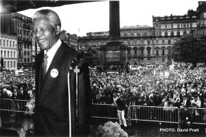 The day the Glasgow police saluted Mandela