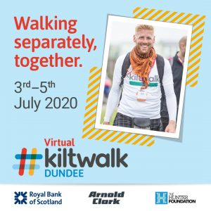 Could you join the Dundee Virtual Kiltwalk to fundraise for a Mandela statue?